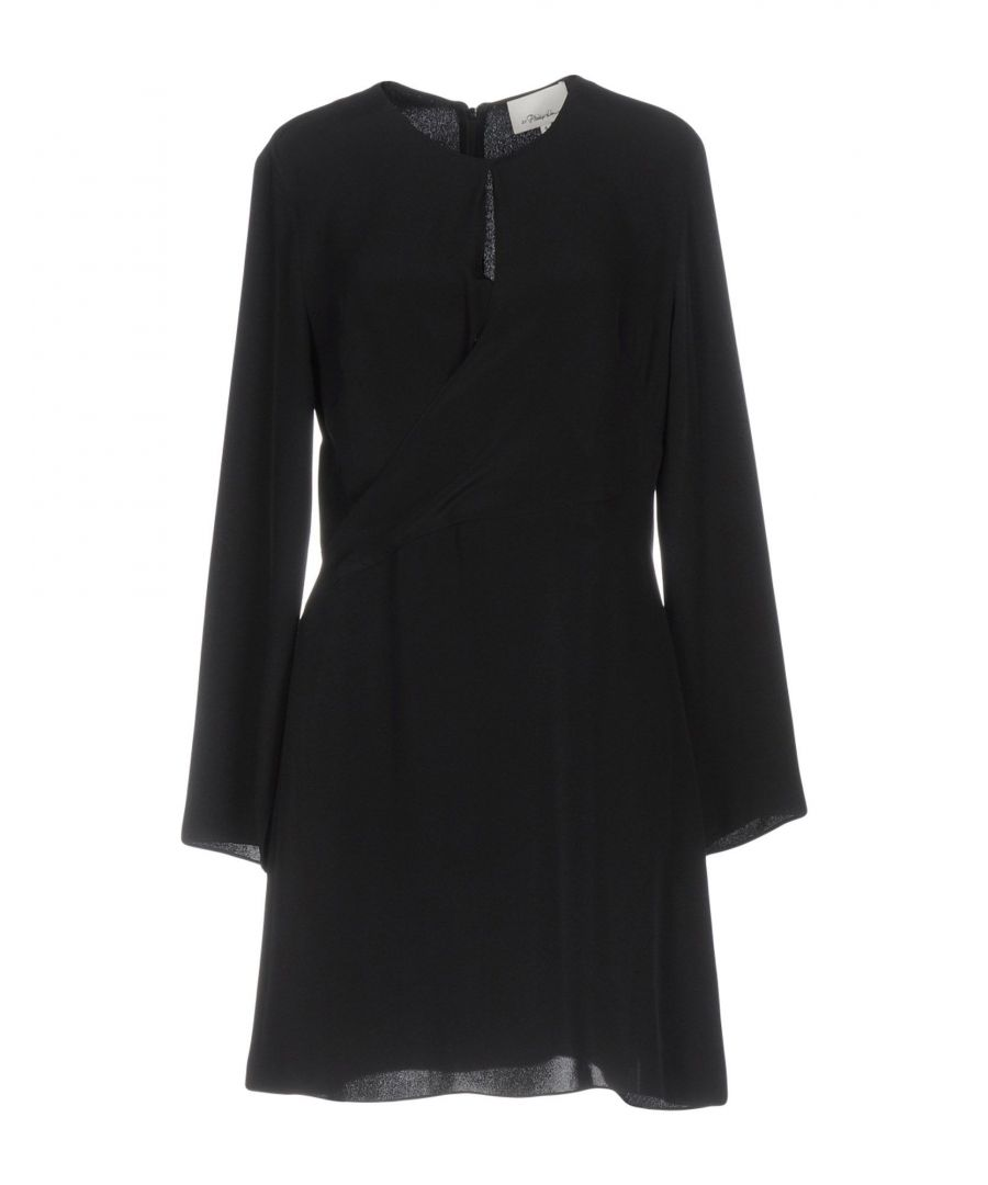 Image for 3.1 Phillip Lim Black Silk Long Sleeve Dress