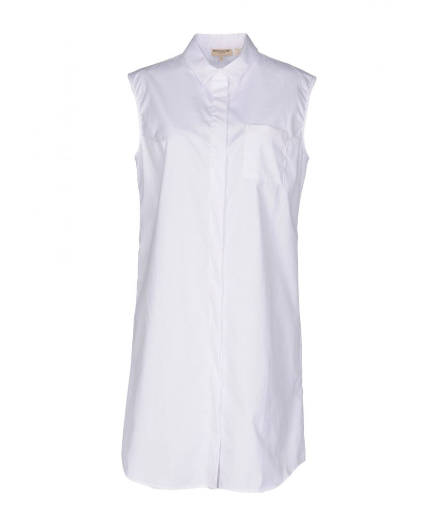 Image for Levi's Made & Crafted White Cotton Shirt Dress