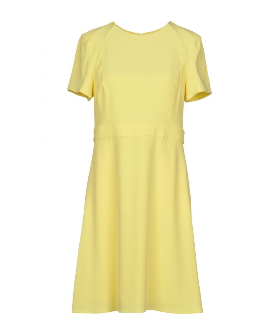 Image for Emporio Armani Light Yellow Dress