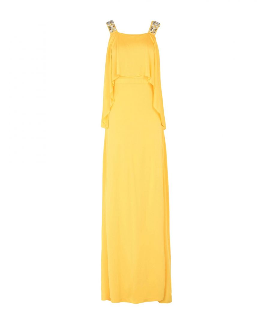 Image for Pinko Woman Long dresses Yellow Viscose