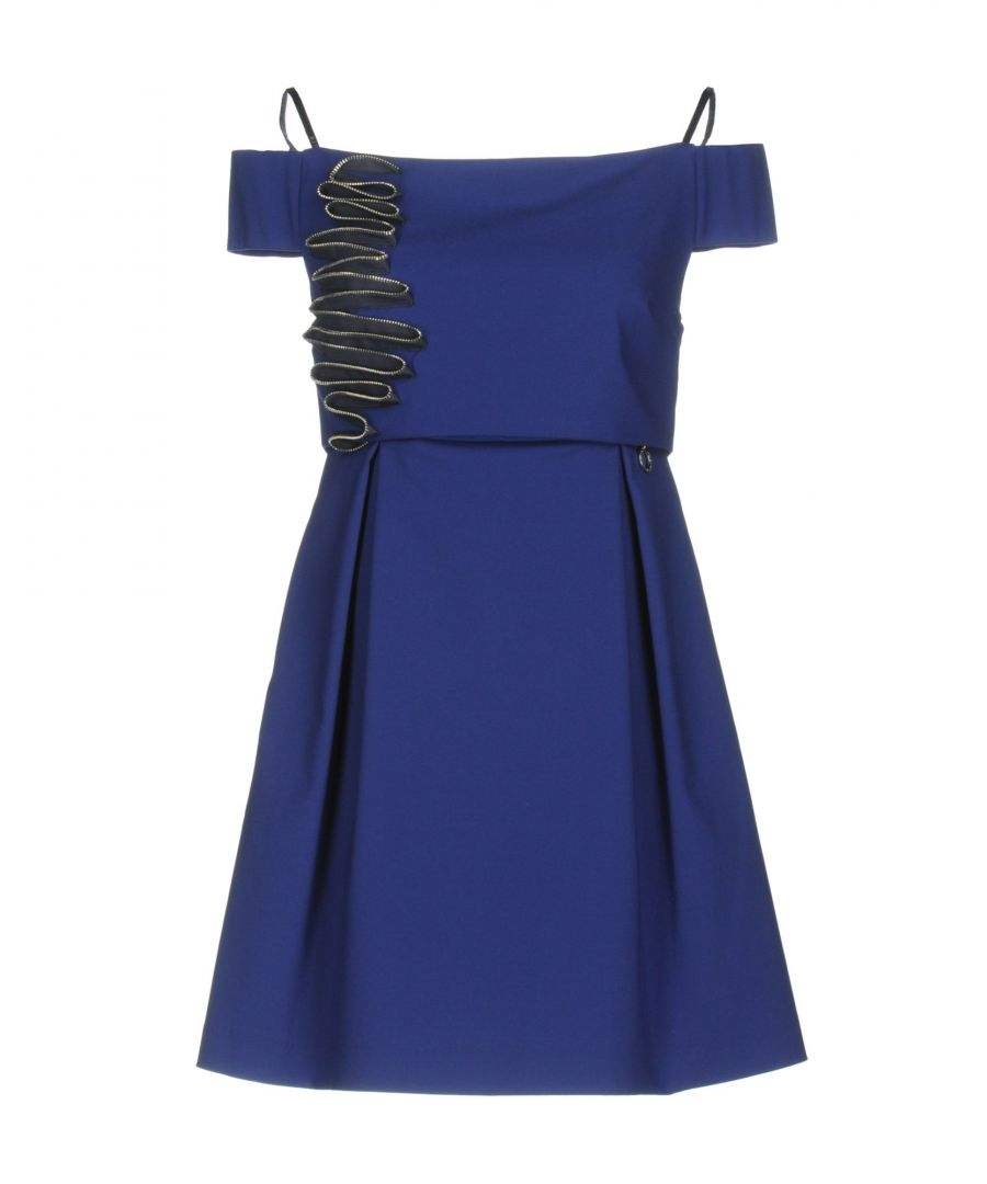 Image for Mangano Blue Cotton Dress