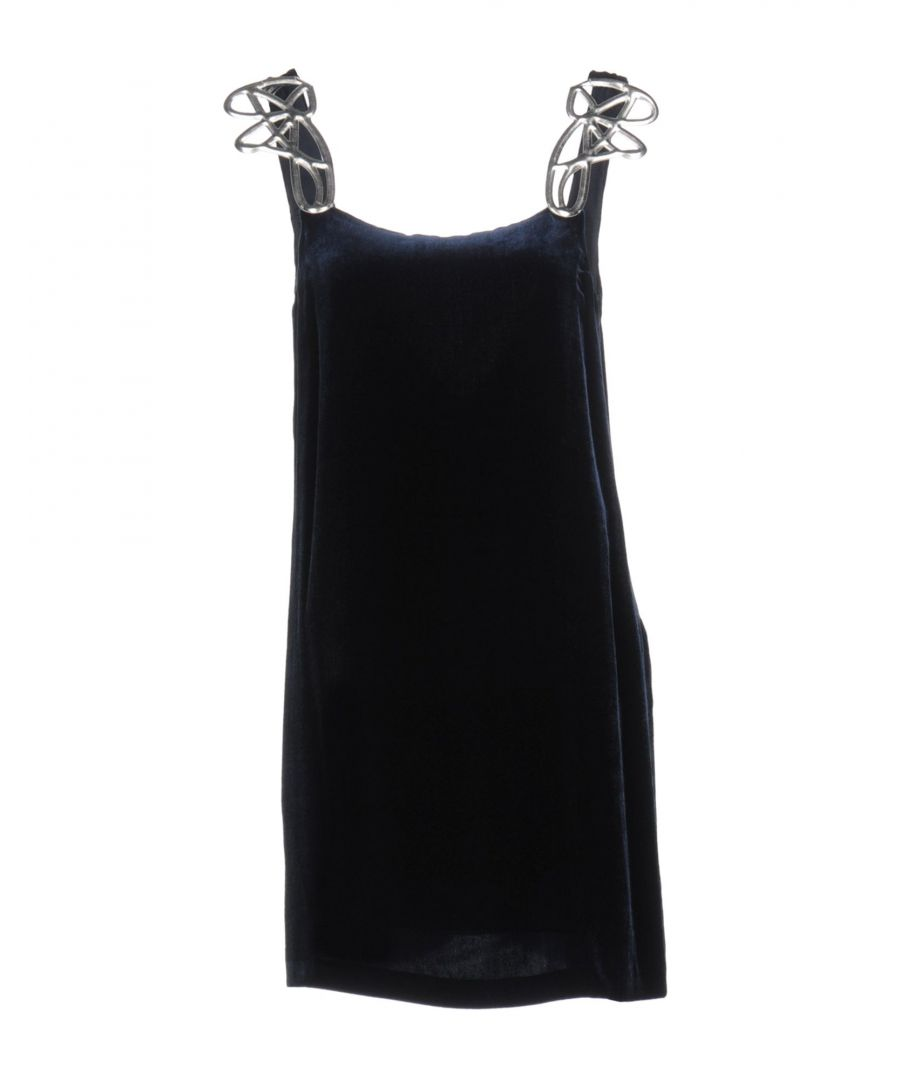 Image for Pinko Dark Blue Camisole Dress