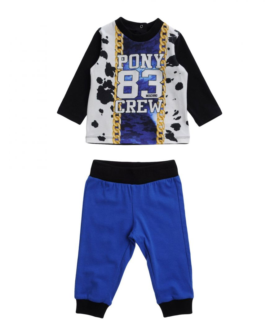 Image for BODYSUITS & SETS Moschino Baby Blue Boy Cotton