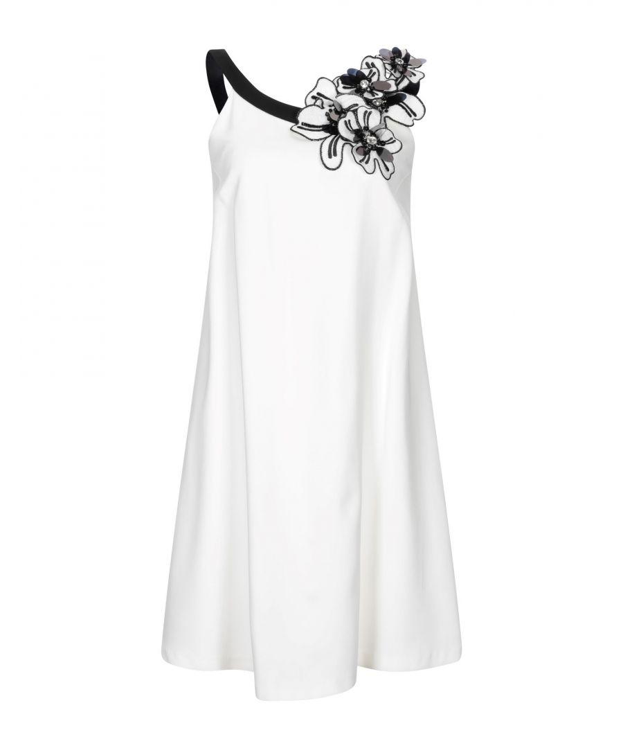 Image for Maria Grazia Severi White Sleeveless Dress