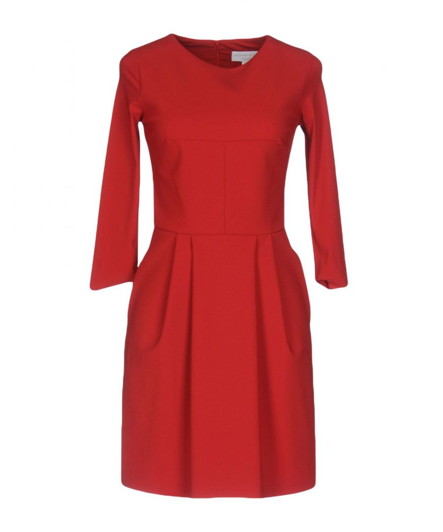 Image for Christies A Porter Red Long Sleeve Flared Dress