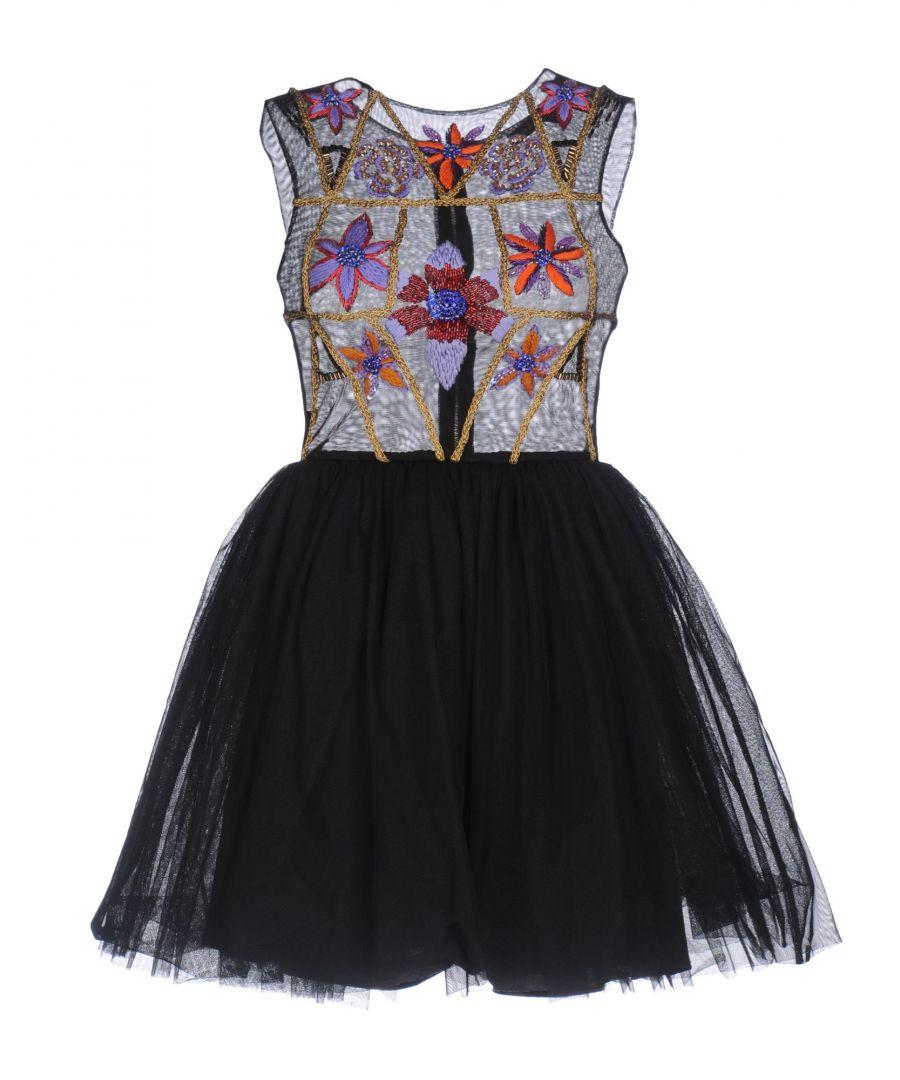 Image for Mangano Black Tulle Short Dress