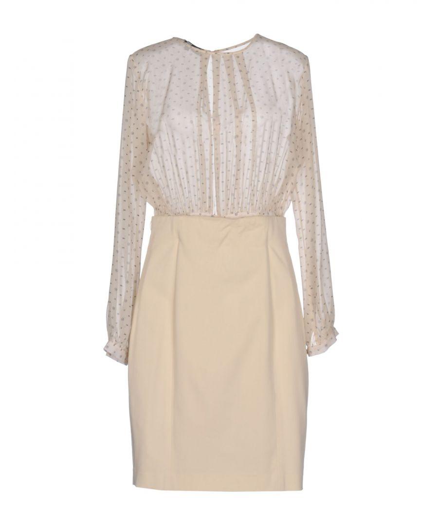 Image for Elisabetta Franchi 24 Ore Beige Silk Dress