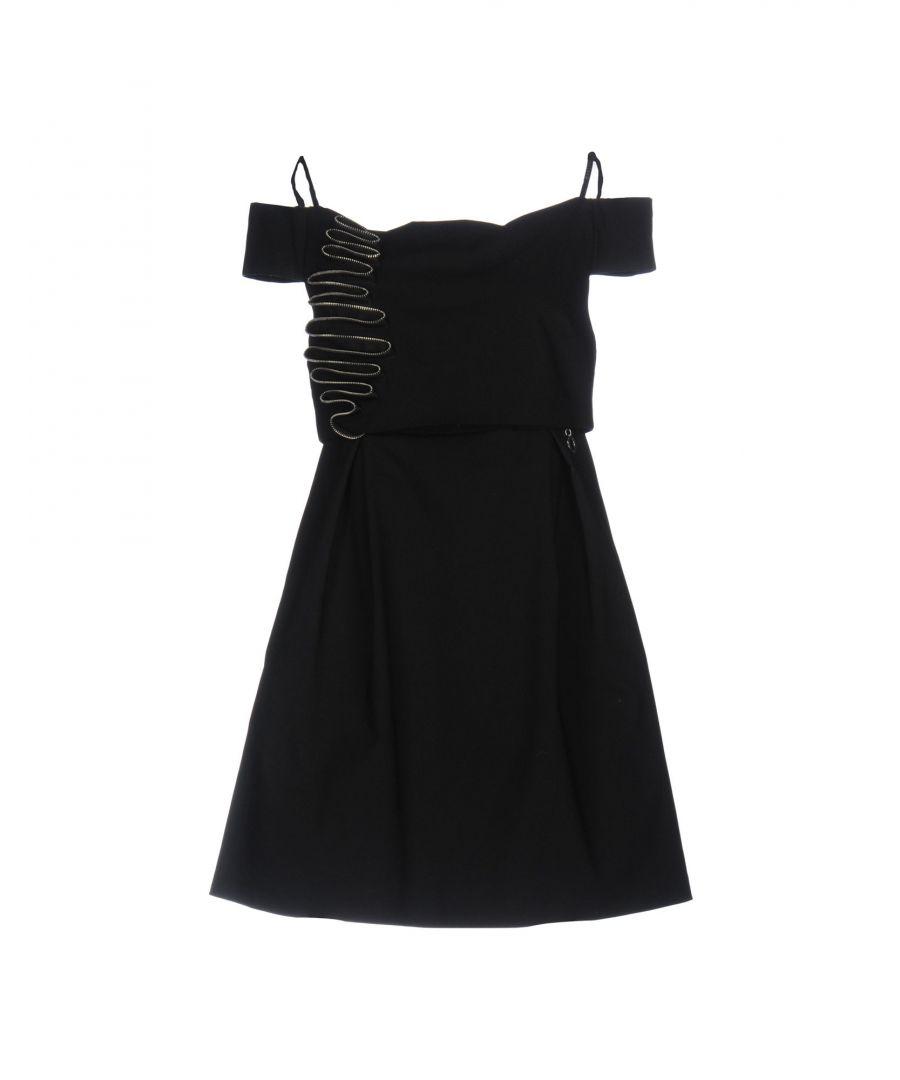 Image for Mangano Black Cotton Dress