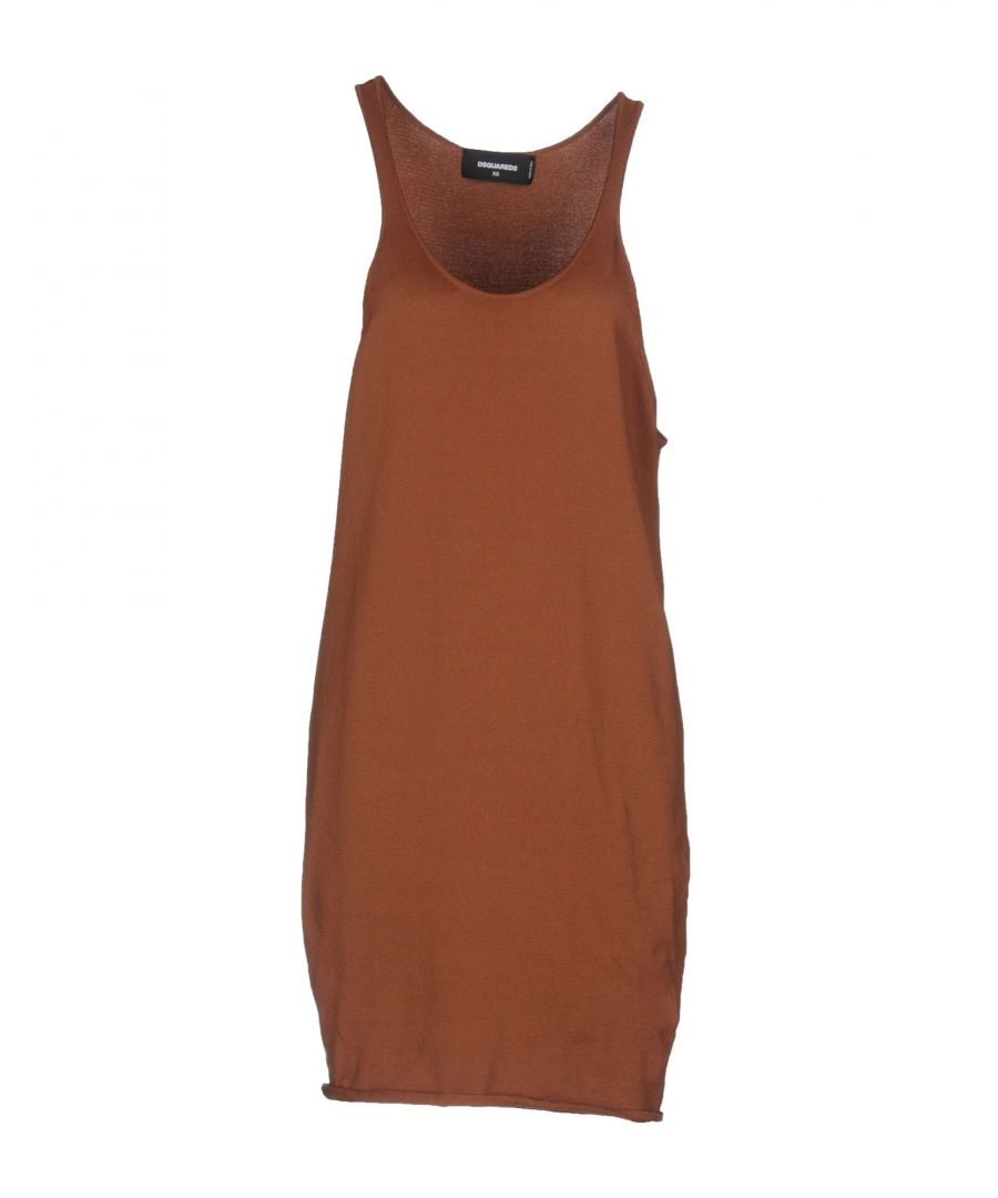 Image for Dsquared2 Brown Dress