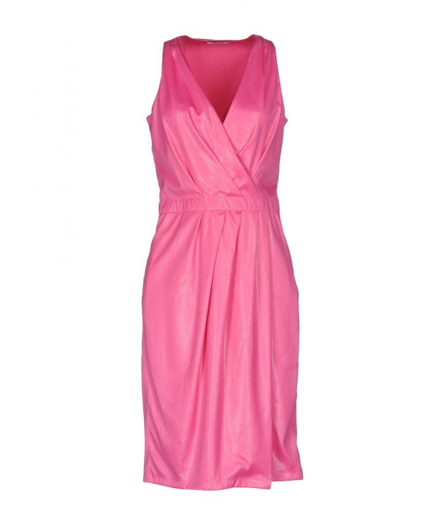 Image for Moschino Cheap And Chic Fuchsia Sleeveless Dress
