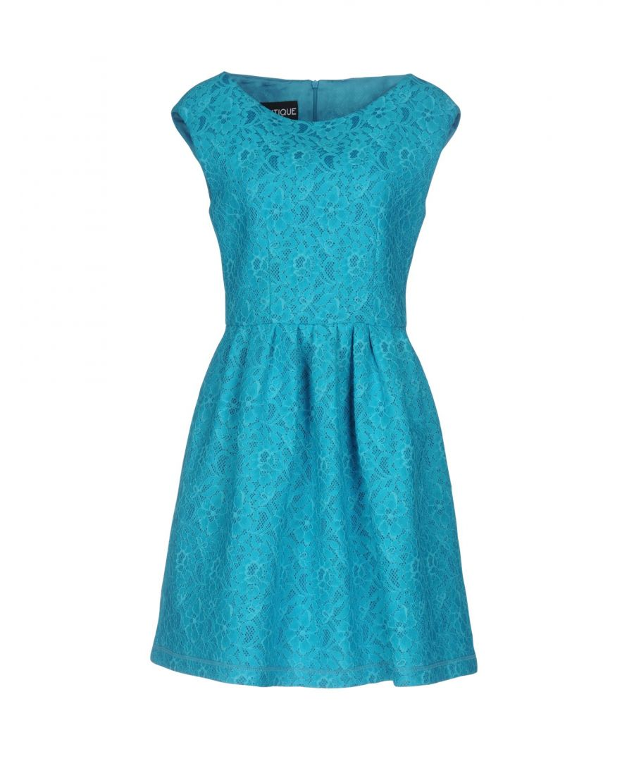 Image for Boutique Moschino Turquoise Lace Dress