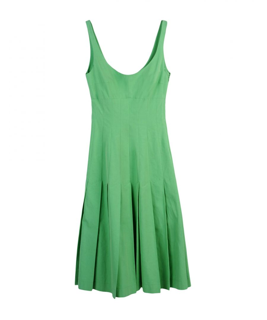 Image for DRESSES Boule De Neige Green Woman Cotton