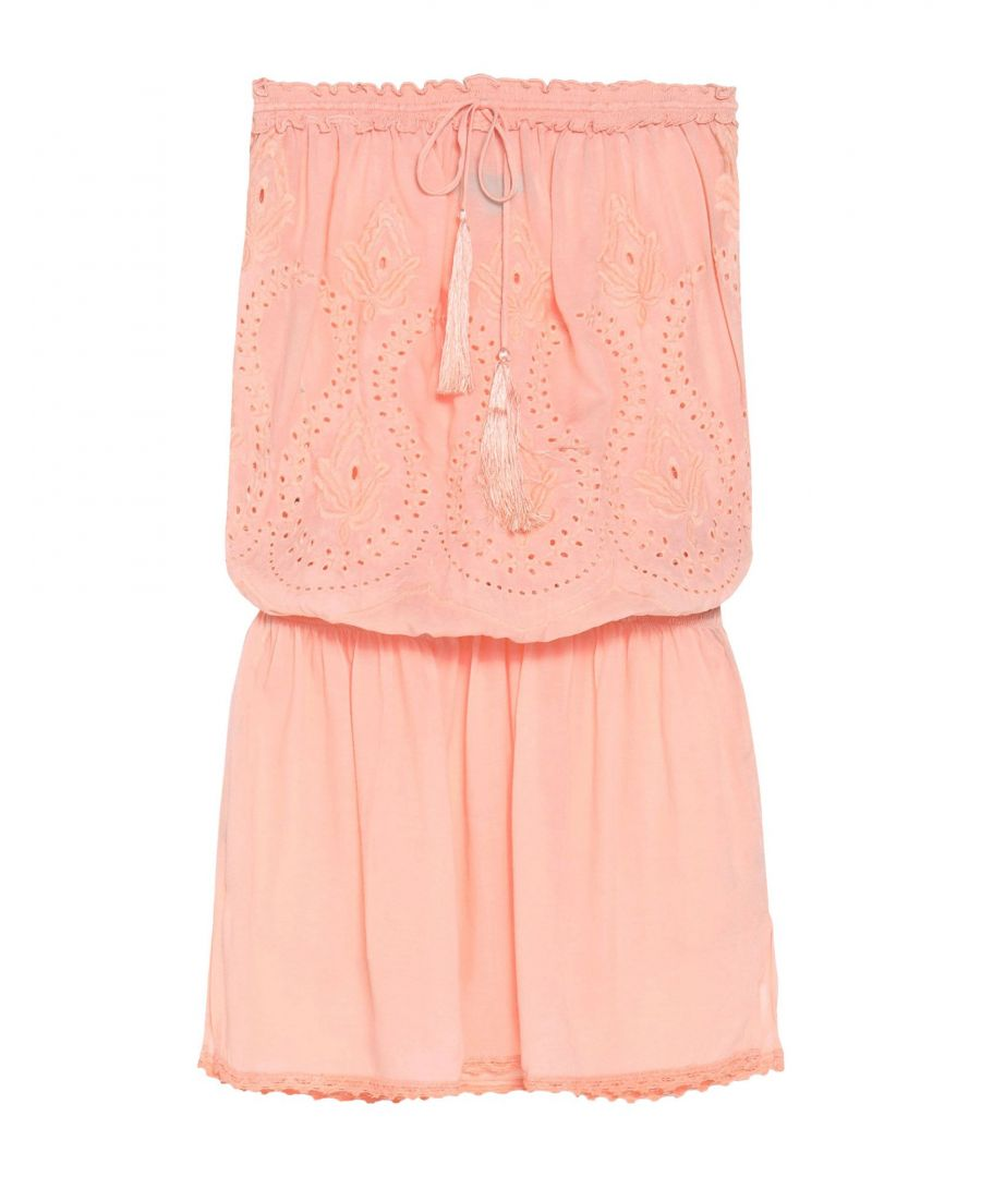 Image for Melissa Odabash Apricot Bandeau Sun Dress