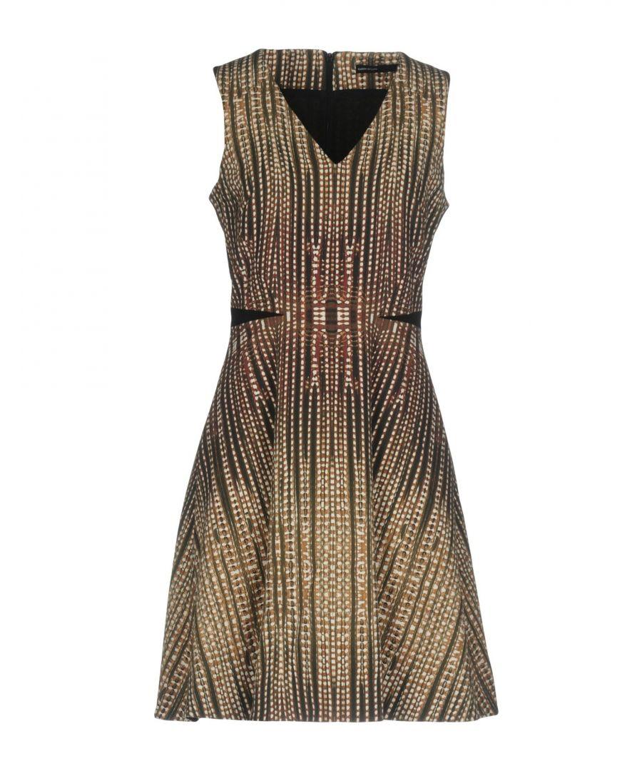 Image for Karen Millen Military Green Sleeveless Dress