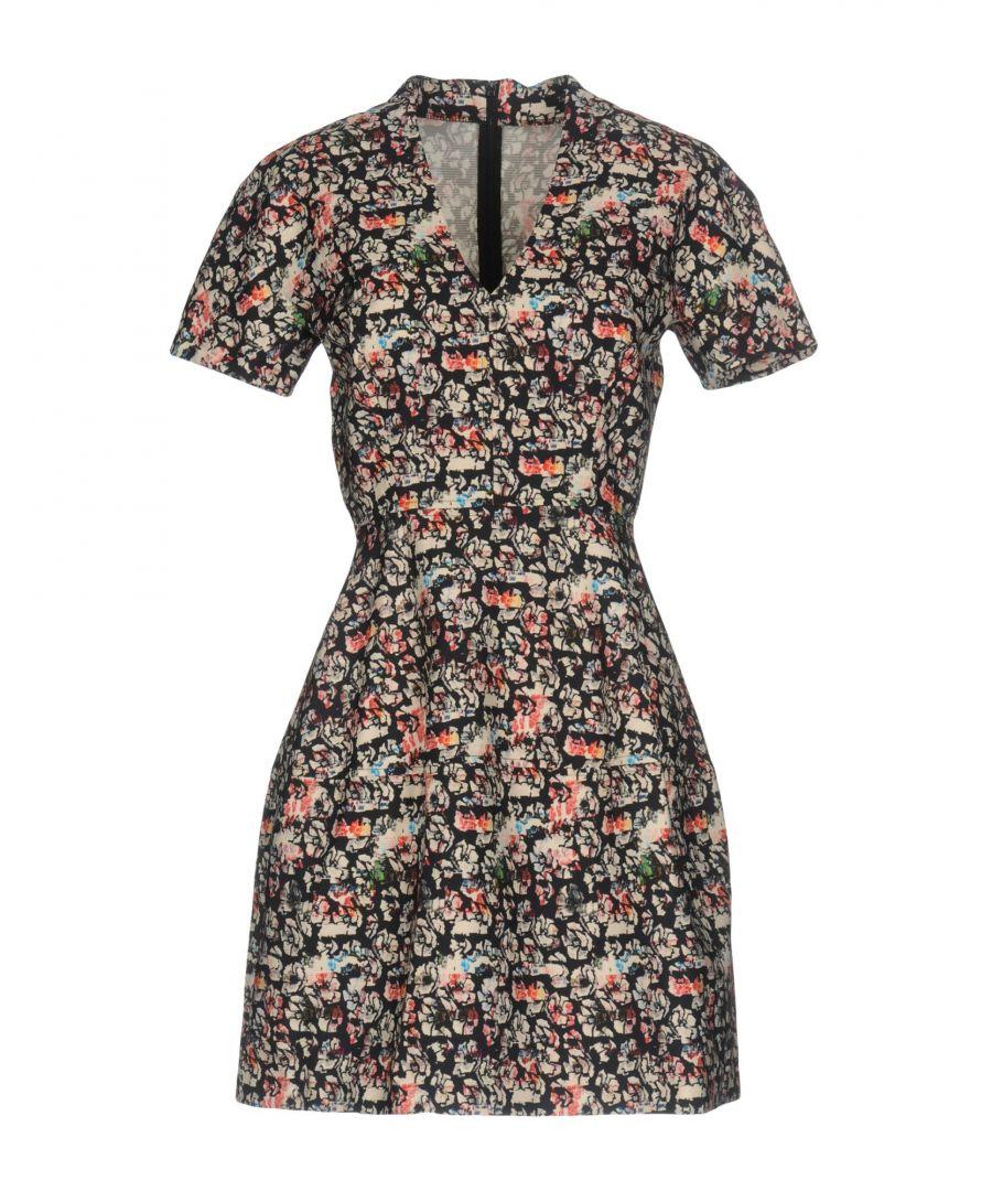 Image for Tara Jarmon Dark Blue Short Sleeve Dress