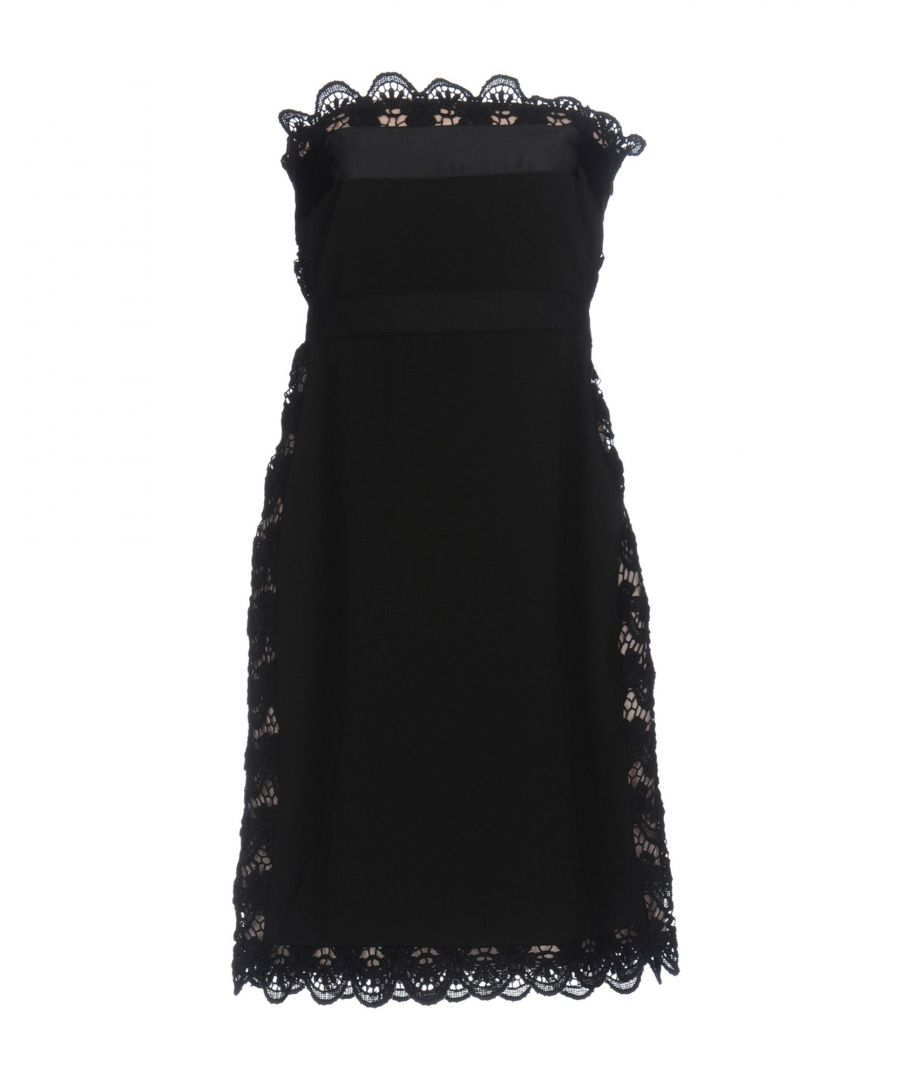 Image for Philosophy Di Alberta Ferretti Black Lace Dress