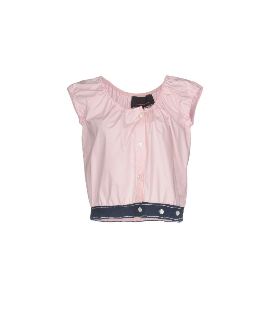 Image for Collection Privee? Pink Cotton Cropped Blouse