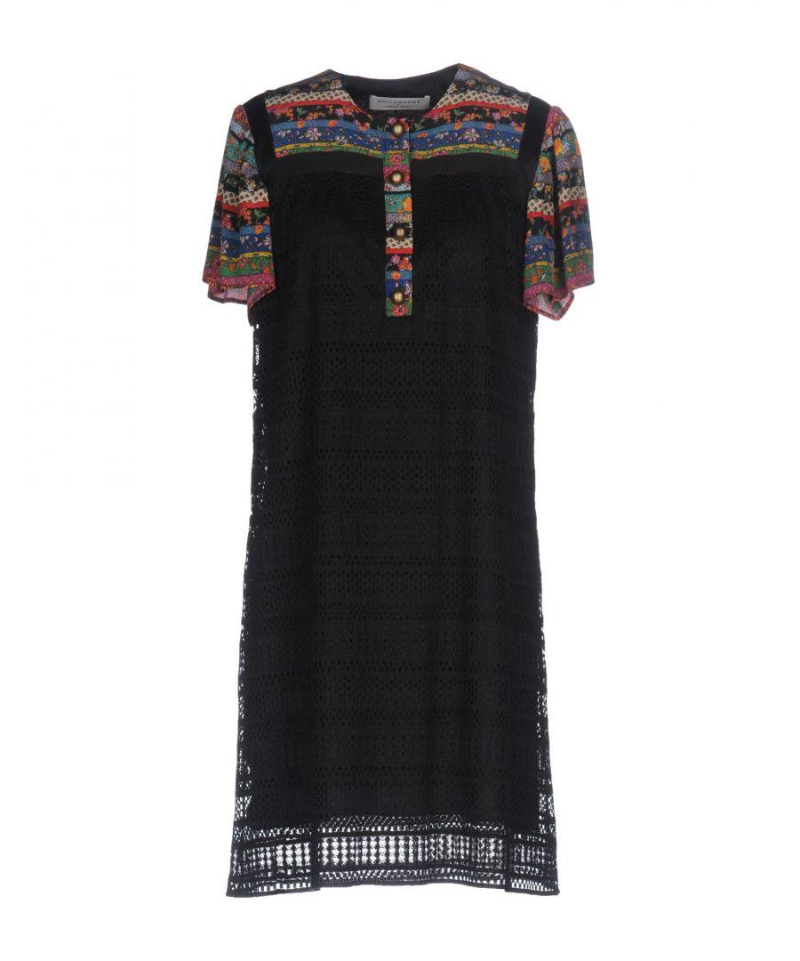Image for Philosophy Di Lorenzo Serafini Black Silk Dress