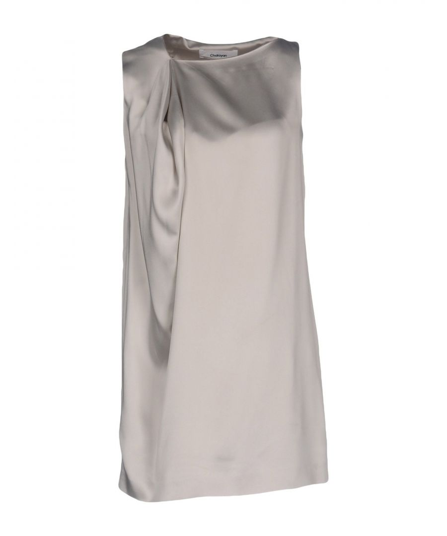 Image for DRESSES Chalayan Light grey Woman Silk