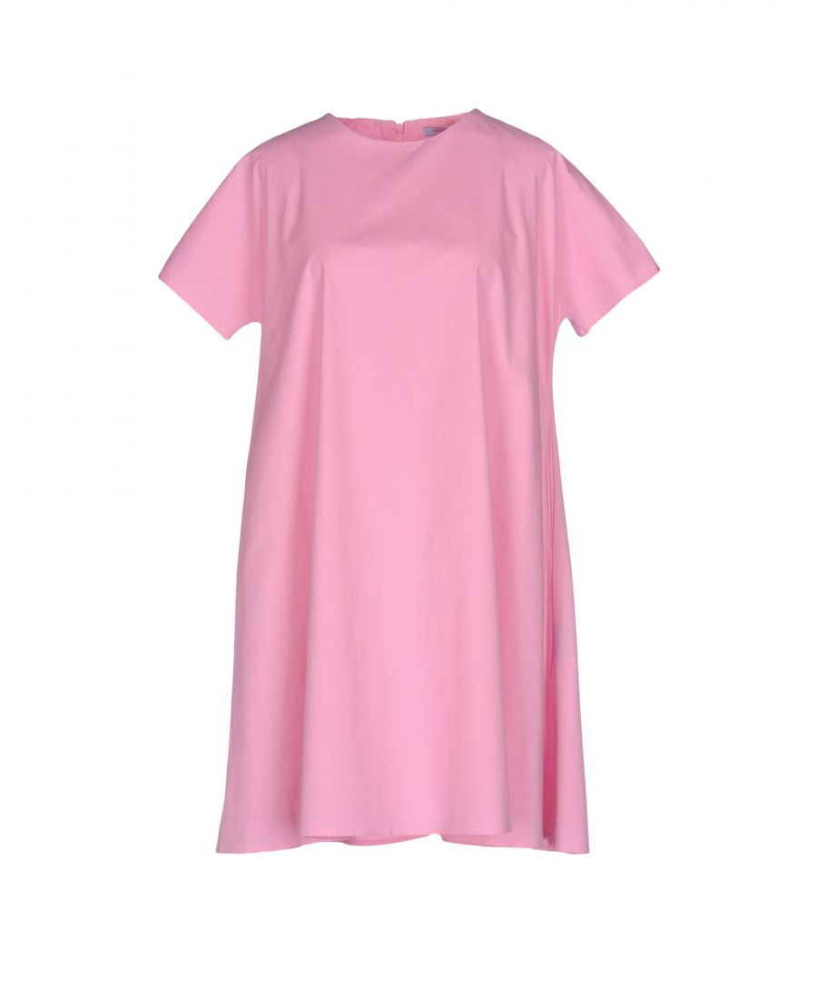 Image for M By Maiocci Pink Cotton T-Shirt Dress