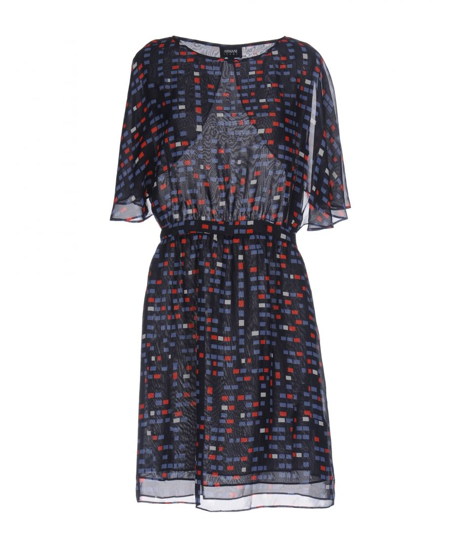 Image for Armani Jeans Dark Blue Print Dress