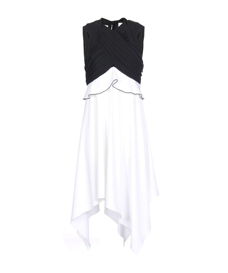 Image for Proenza Schouler Crepe Monochrome Dress