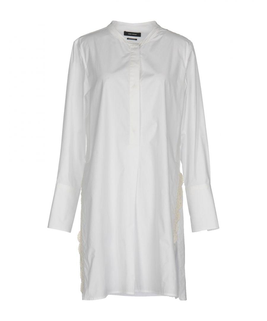 Image for Isabel Marant White Cotton Shirt Dress