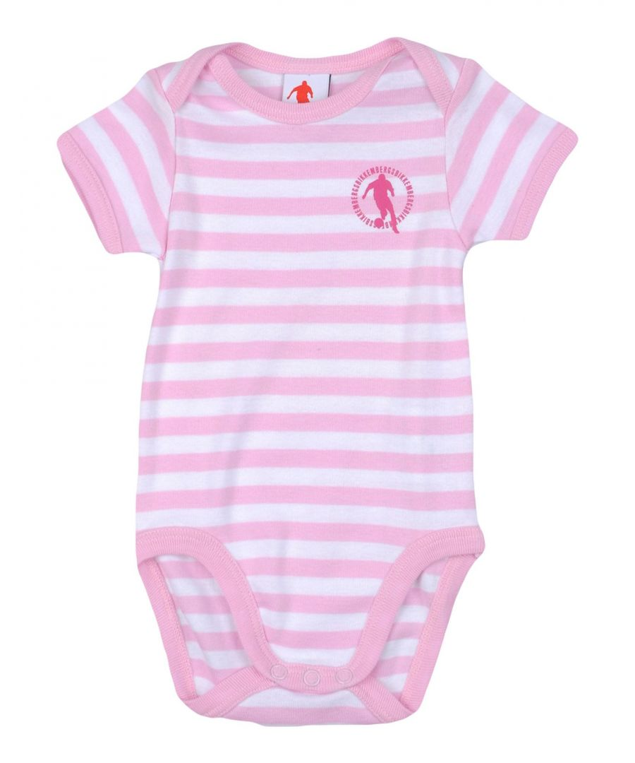 Image for Bikkembergs Pink Girl Cotton Onesie