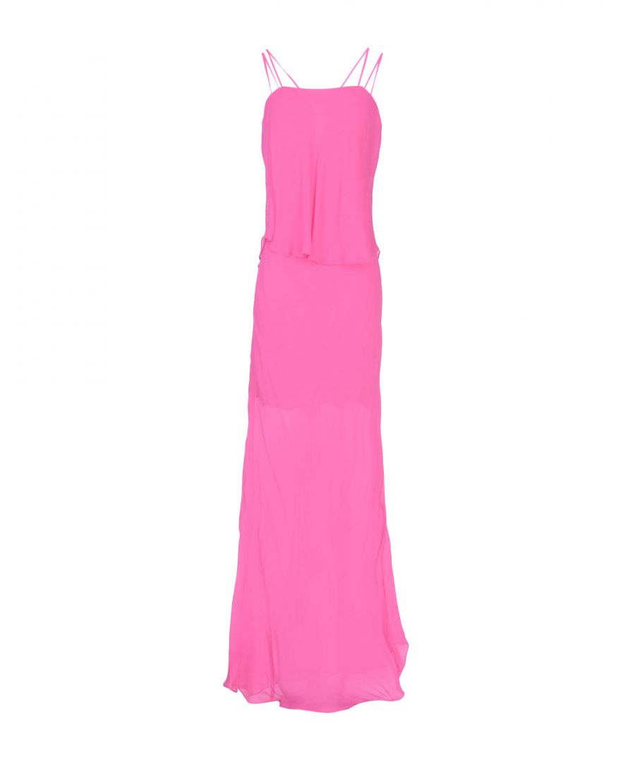 Image for Pinko Fuchsia Full Length Dress