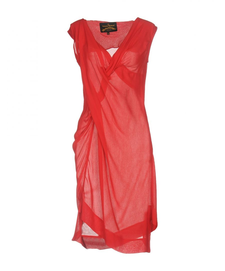 Image for Vivienne Westwood Anglomania Red Crepe Dress
