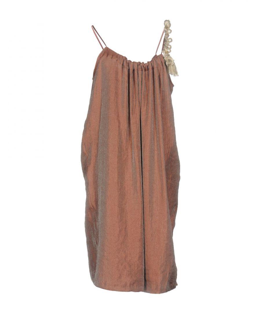 Image for Jijil Light Brown Sleeveless Dress