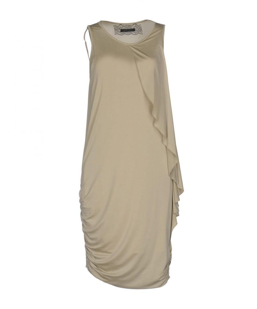 Image for DRESSES Patrizia Pepe Sera Khaki Woman Cupro