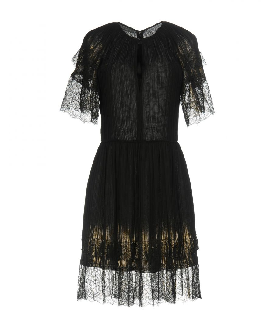 Image for Alberta Ferretti Black Lace Dress