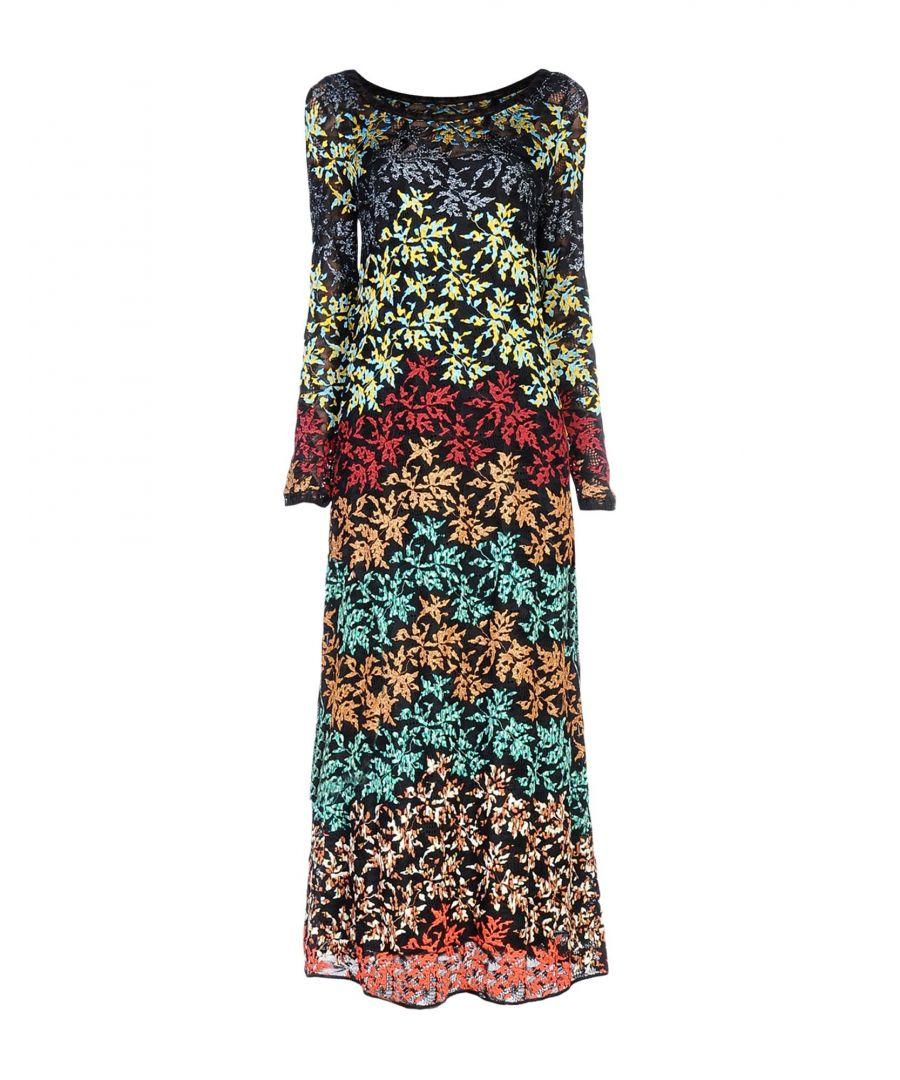 Image for Missoni Multicolour Knit Long Sleeve Dress