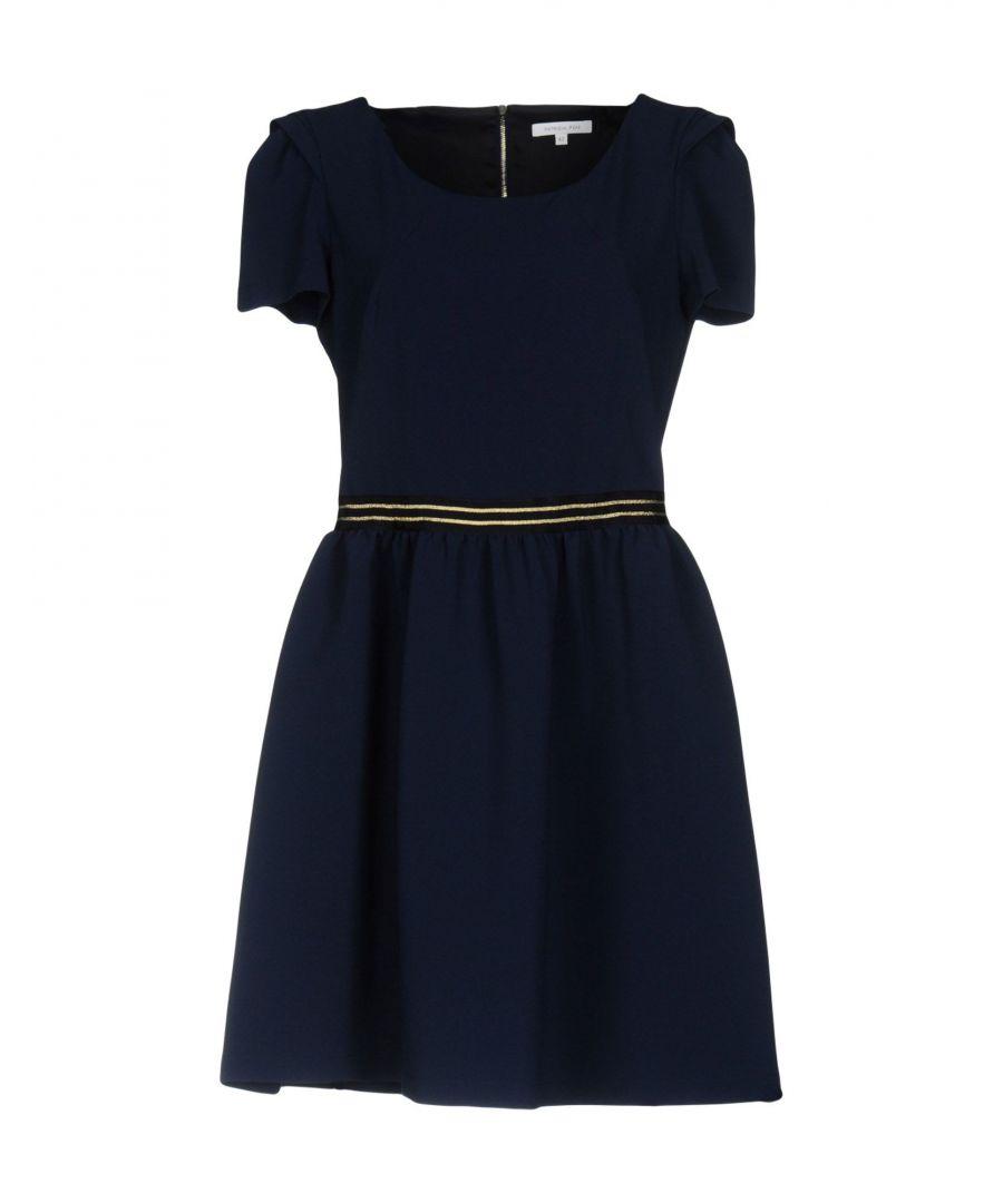 Image for Patrizia Pepe Dark Blue Short Sleeve Dress