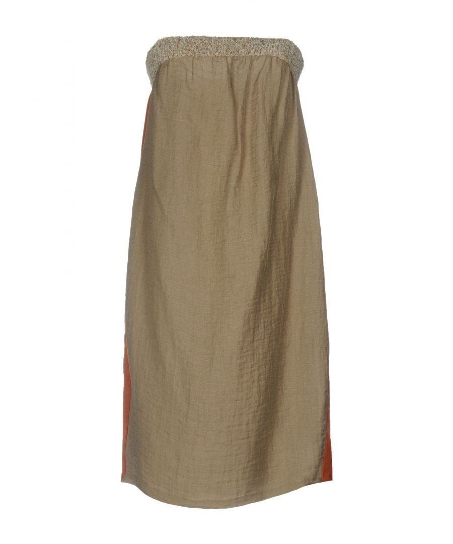 Image for Jijil Khaki Strapless Dress