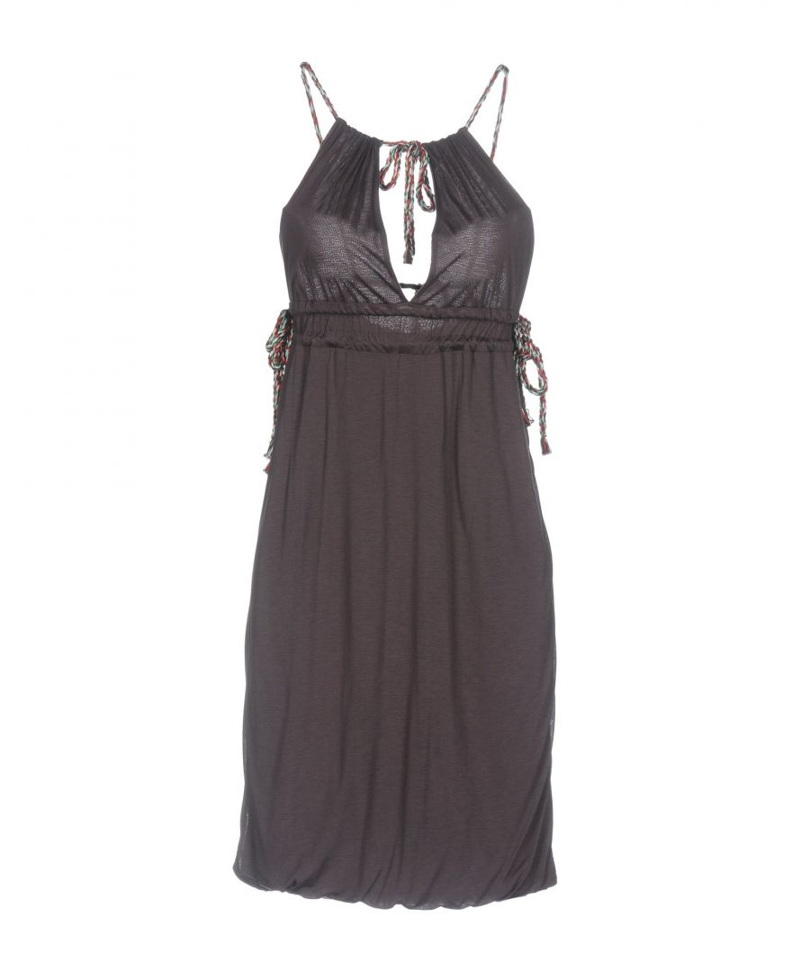 Image for M Missoni Dark Purple Jersey Dress