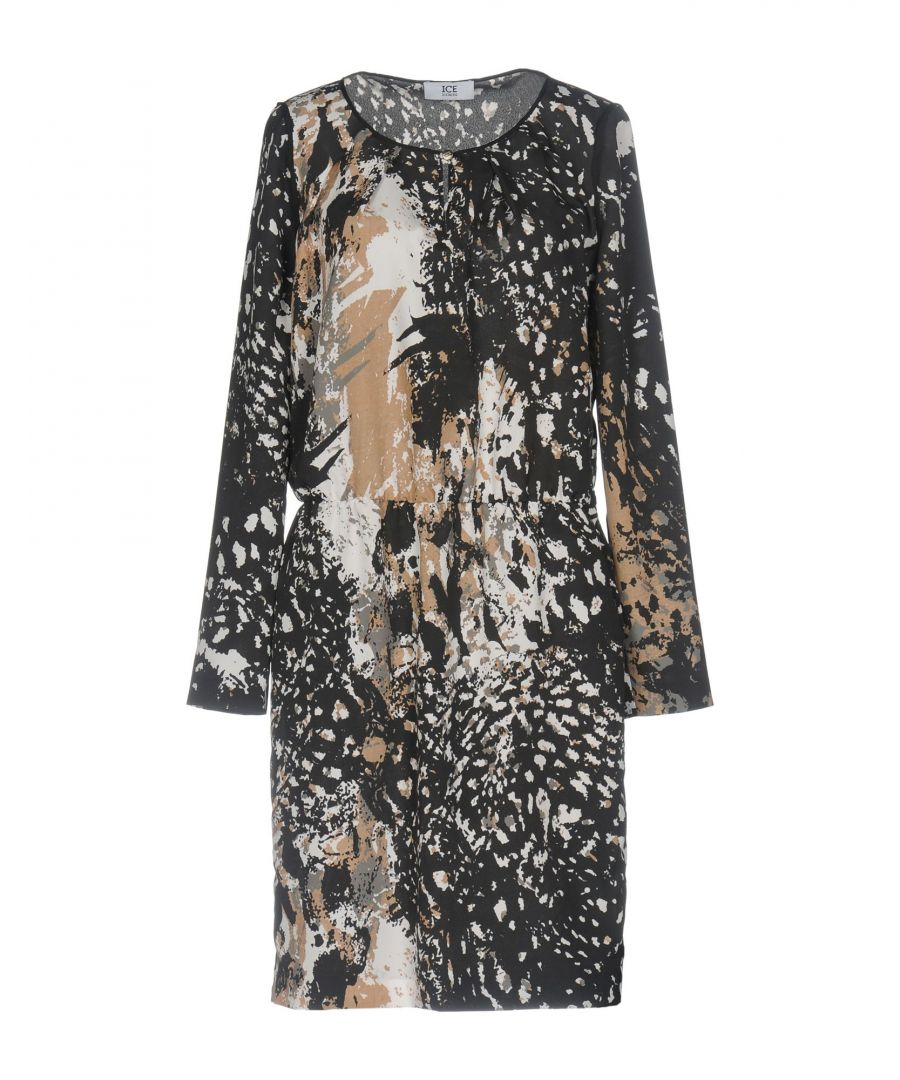 Image for DRESSES Ice Iceberg Steel grey Woman Polyester