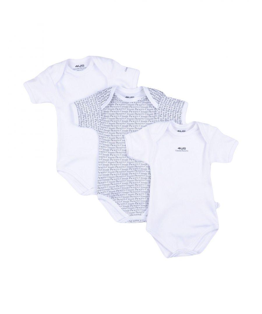 Image for BODYSUITS & SETS Cesare Paciotti 4Us White Boy Cotton