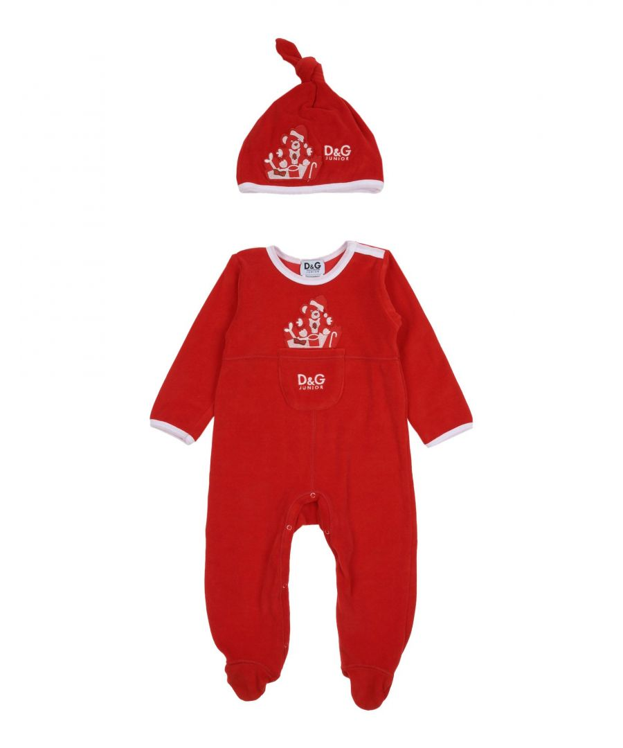 Image for BODYSUITS & SETS D&G Red Boy Cotton
