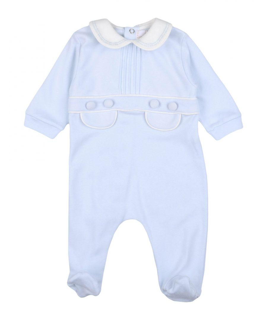 Image for BODYSUITS & SETS Aletta Sky blue Boy Cotton