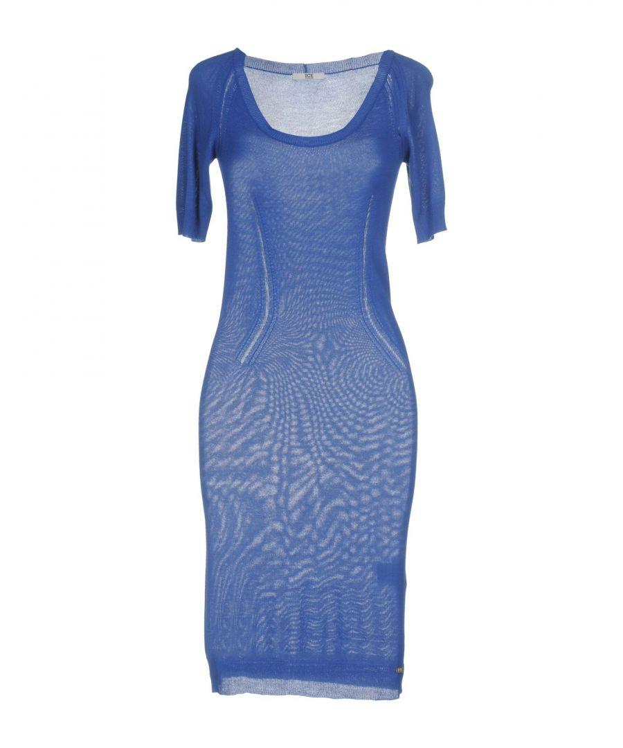 Image for DRESSES Ice Iceberg Blue Woman Viscose