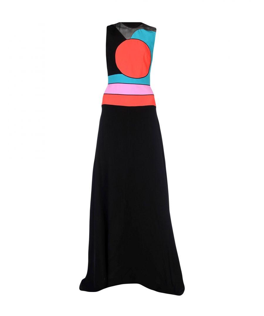 Image for Roksanda Black Silk Sleeveless Full Length Dress