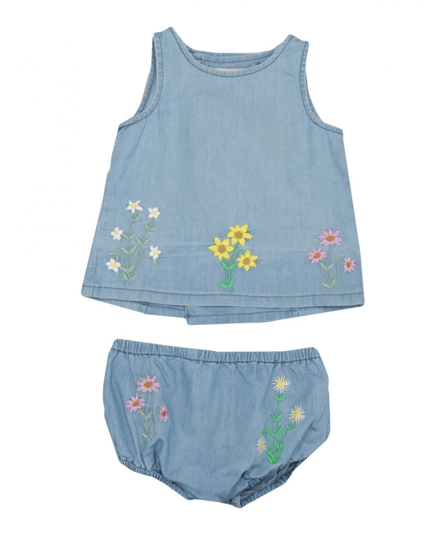 Image for Stella Mccartney Kids Blue Girl Cotton Set