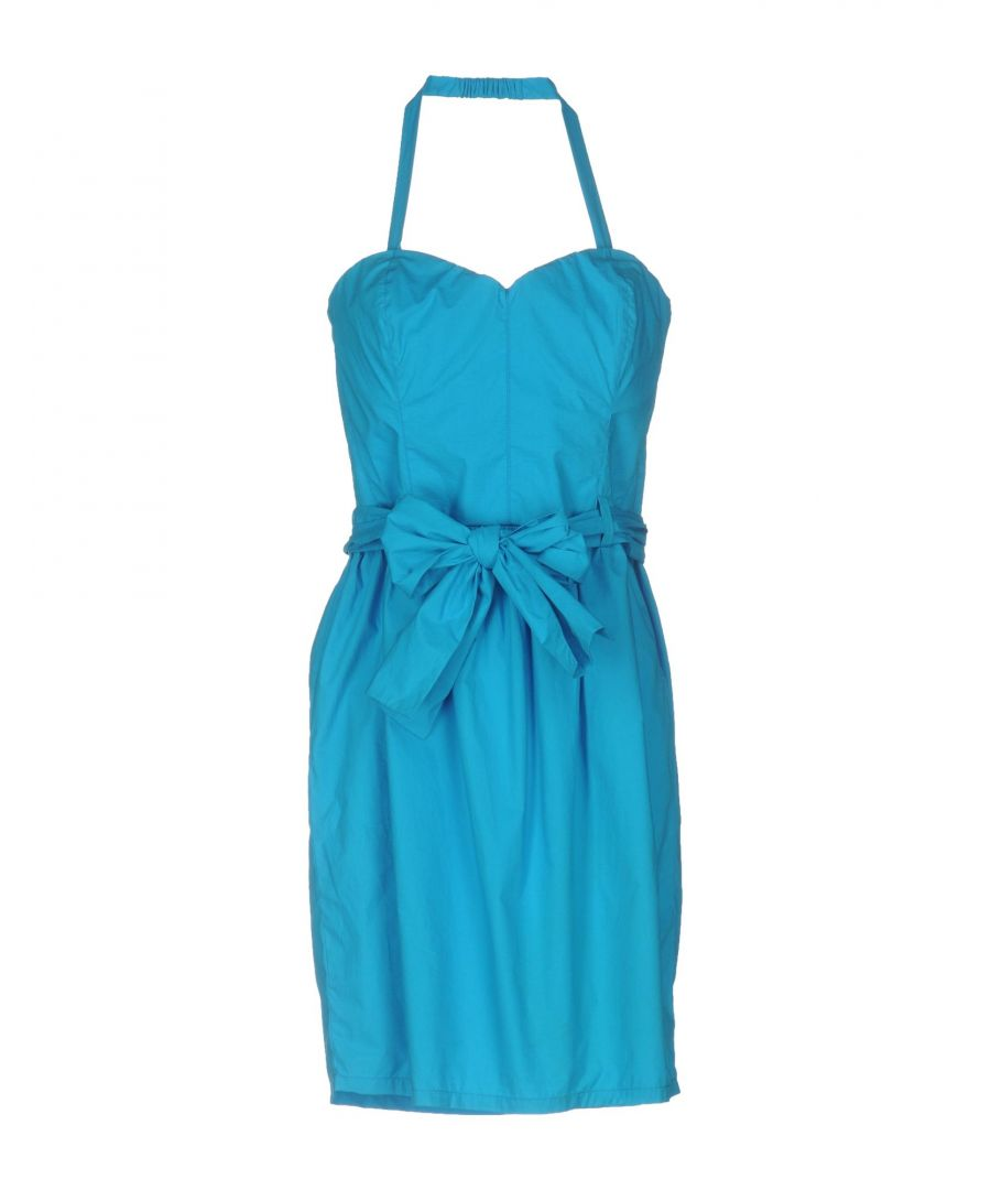 Image for Love Moschino Azure Cotton Dress
