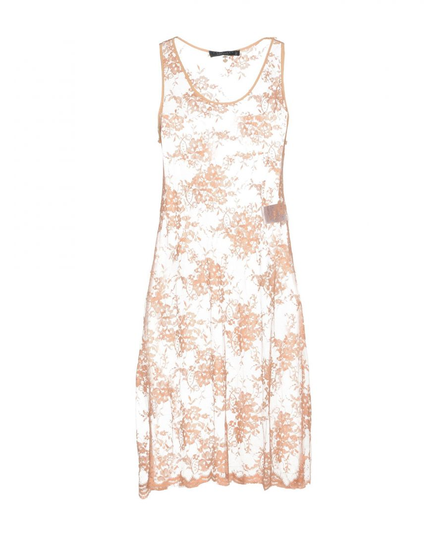 Image for Twinset Pale Pink Lace Dress