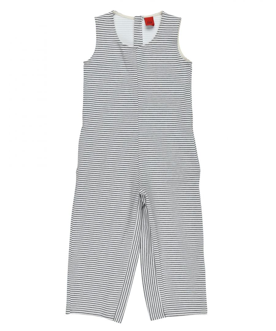Image for DUNGAREES Jijil Jolie Grey Girl Viscose