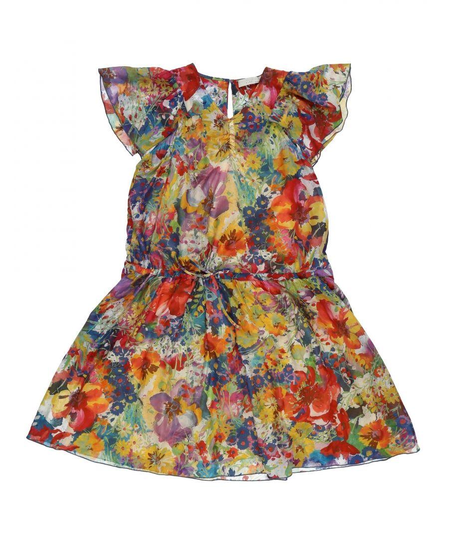 Image for DRESSES Stella Mccartney Kids Yellow Woman Cotton
