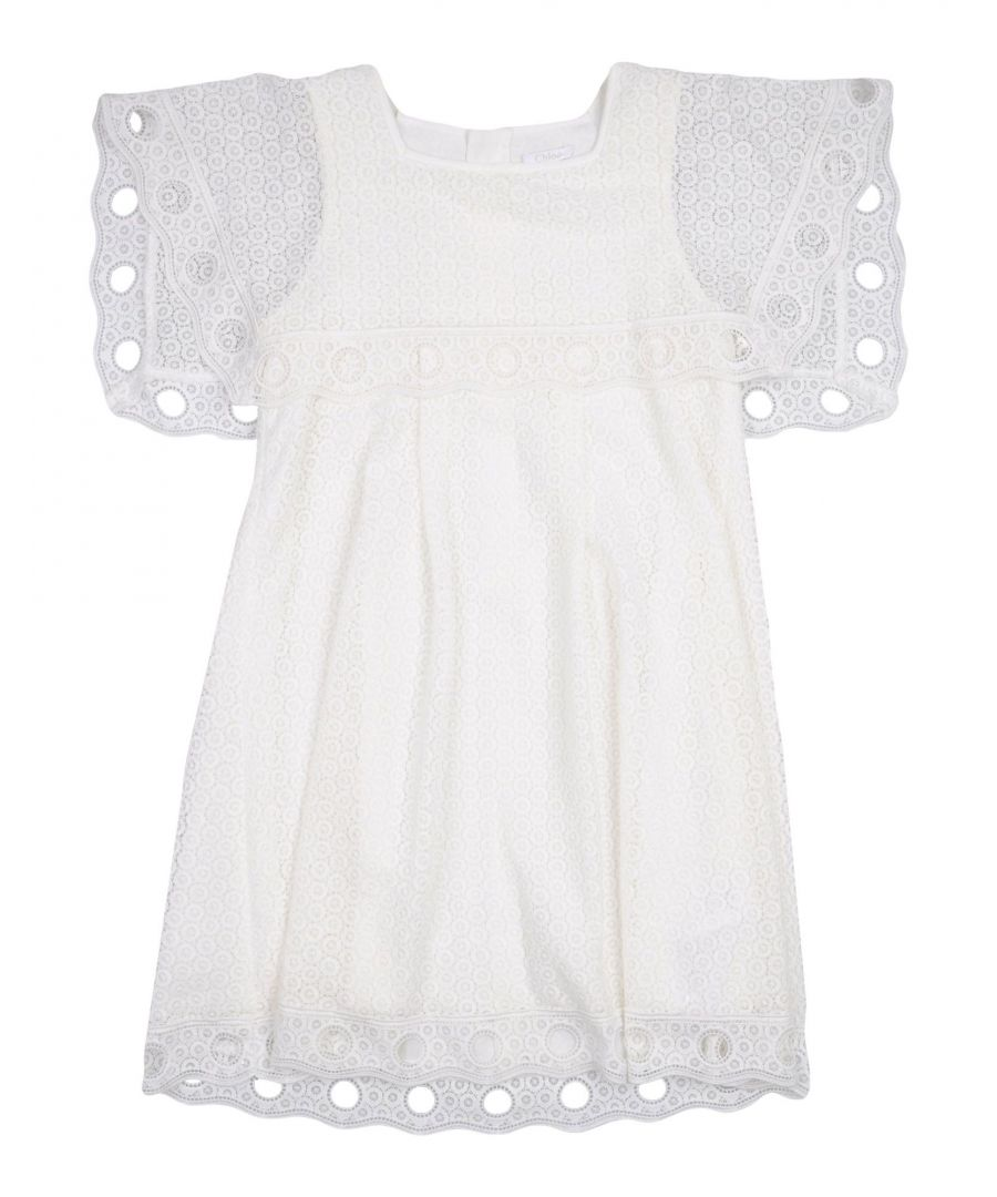 Image for DRESSES Chloé White Girl Cotton