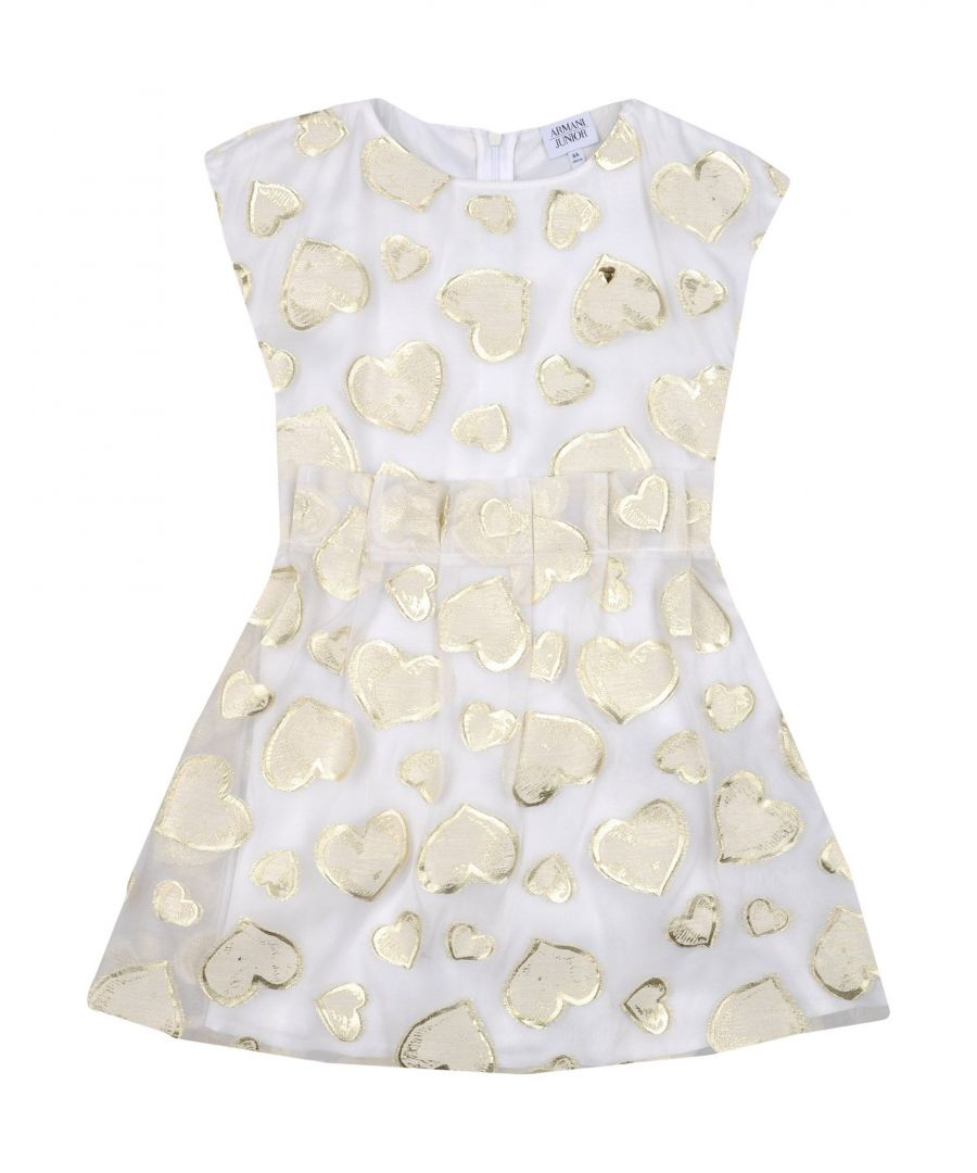 Image for DRESSES Armani Junior White Woman Cotton